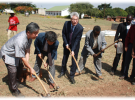 New Library & Admin Block Ground broken
