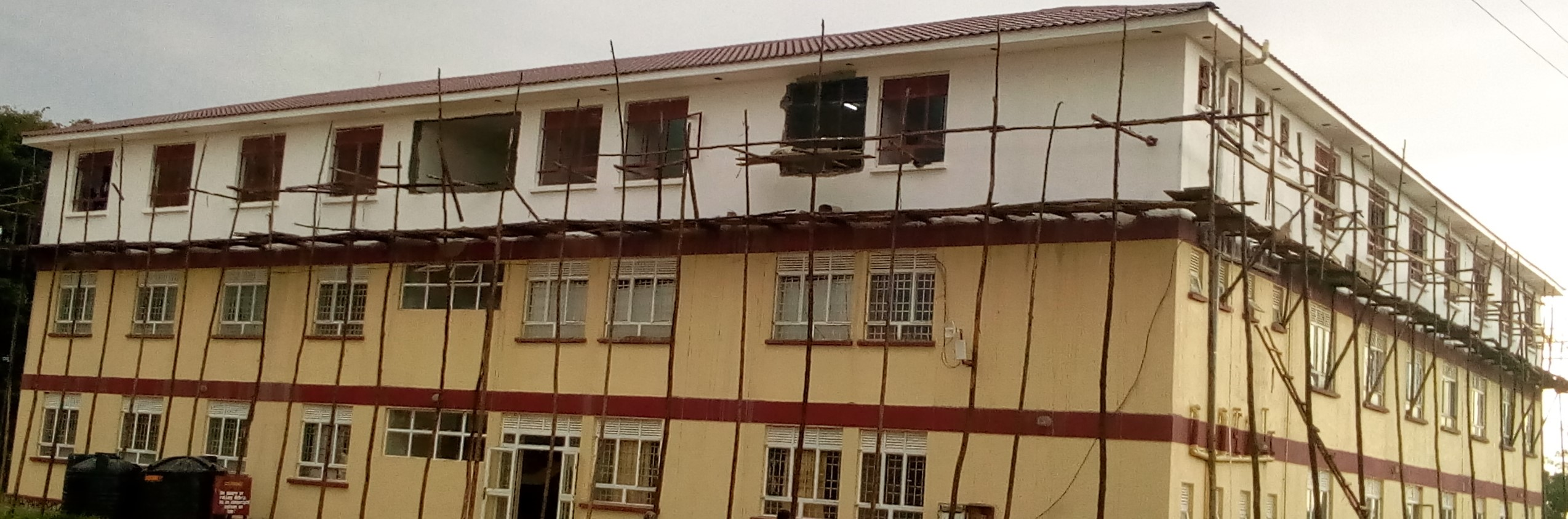 Science Block Near Completion